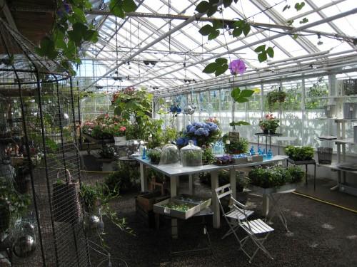 Bockade aluminiumprofiler i växthus