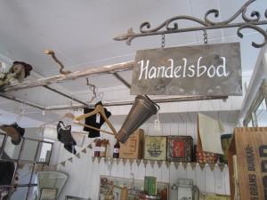 Vacker butiksinredning i gammal stil